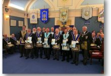 Photo of Special Provincial Honours meeting held at Yatton