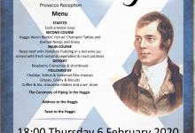 Photo of Royal Cumberland Lodge No 41 – Burns Night 2020