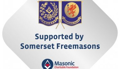 Photo of Somerset Masonic Footprint recognised in FMT