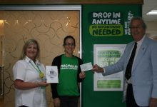 Photo of Wraxall Lodge raises money for Macmillan Cancer Charity