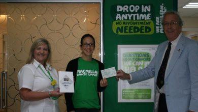 Photo of Wraxall Lodge raises money for Macmillan Cancer Charity