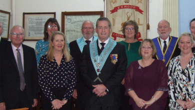Photo of Exmoor Lodge donate over £2500 to local charities
