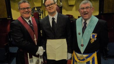 Photo of Admiral Blake Lodge – Initiation